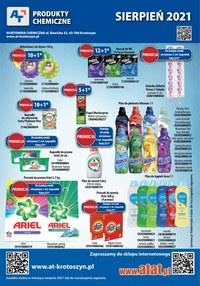 Gazetka promocyjna At - At - oferta z produktami chemicznymi - ważna do 31-08-2021