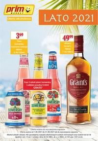 Gazetka promocyjna Prim Market - Prim Market - oferta alkoholowa lato 2021