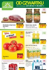 Gazetka promocyjna Stokrotka Supermarket - Stokrotka Supermarket - świeża oferta! - ważna do 11-08-2021