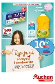 Soczyste i smakowite okazje w Auchan Supermarket