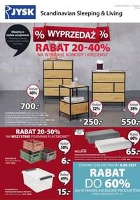 Jysk - rabaty do -40% na komody i kredensy!