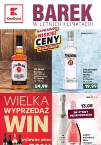 Gazetka promocyjna Kaufland - Kaufland - barek w letnich klimatach!