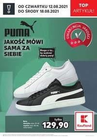 Gazetka promocyjna Kaufland - Buty Pumy w Kauflandzie   - ważna do 18-08-2021