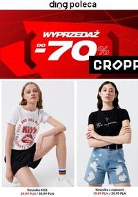 Gazetka promocyjna Cropp Town - Cropp - wyprzedaż do -70%! - ważna do 31-08-2021