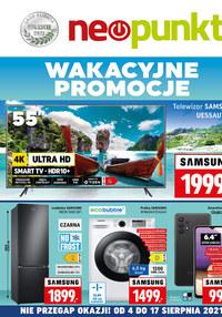 Gazetka promocyjna NEOPUNKT - Wakacyjne promocje w NEOPUNKT   - ważna do 17-08-2021