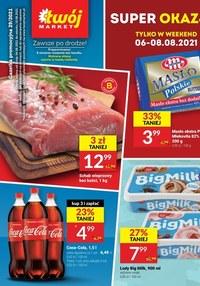Gazetka promocyjna Twój Market - Twój Market blisko Ciebie!    - ważna do 10-08-2021