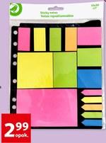 Karteczki samoprzylepne Auchan
