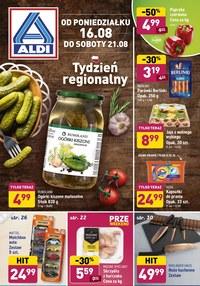 Gazetka promocyjna Aldi - Aldi - tydzień regionalny - ważna do 21-08-2021