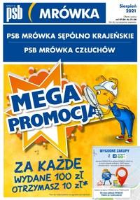 Gazetka promocyjna PSB Mrówka - PSB Mrówka Człuchów, Sępólno Krajeńskie - ważna do 21-08-2021