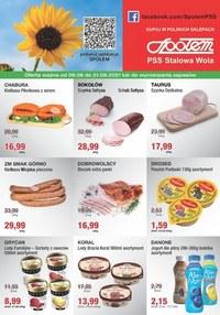 Gazetka promocyjna PSS Stalowa Wola - Promocje w sklepach PSS Stalowa Wola - ważna do 21-08-2021