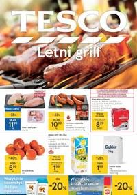 Gazetka promocyjna Tesco Centra Handlowe - Letni grill - Tesco - ważna do 18-08-2021