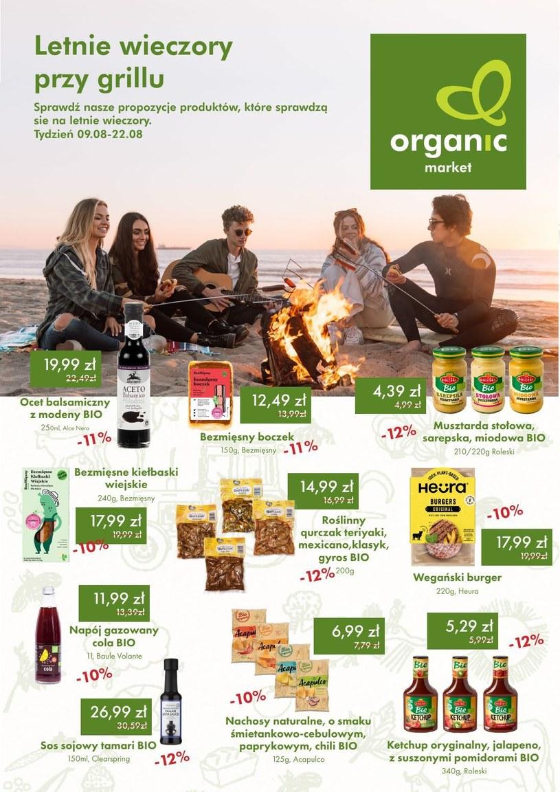 Gazetka promocyjna Organic - wygasła 30 dni temu