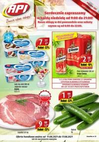 Gazetka promocyjna Api Market - Zawsze udane zakupy w Api Market!    - ważna do 17-08-2021
