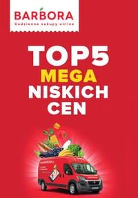 Gazetka promocyjna Barbora - Barbora - top 5 mega niskich cen! - ważna do 16-08-2021