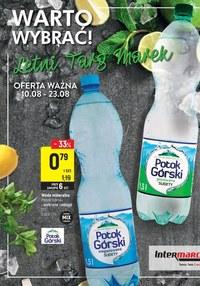 Gazetka promocyjna Intermarche Super - Letni targ marek w Intermarche  - ważna do 23-08-2021