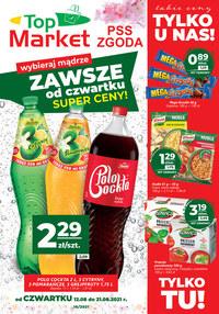 Gazetka promocyjna PSS Zgoda Płock - Zawsze tanio w PSS Zgoda Płock - ważna do 21-08-2021