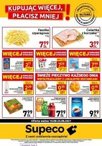 Gazetka promocyjna Supeco - Kupując więcej, płacisz mniej - Supeco - ważna do 23-08-2021
