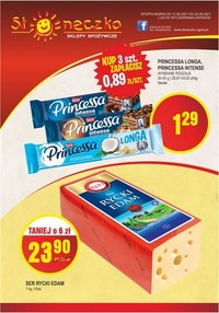 Gazetka promocyjna Słoneczko - Kupuj więcej, płać mniej w sklepach Słoneczko - ważna do 22-08-2021