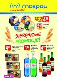 Gazetka promocyjna Mokpol - Sierpniowe promocje w Mokpol  - ważna do 22-08-2021