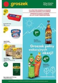 Gazetka promocyjna Groszek  - Pełny zakupów, pełny radości - Groszek - ważna do 24-08-2021