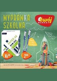 Gazetka promocyjna Twój Market - Wyprawka szkolna z Twój Market!   - ważna do 06-09-2021