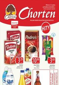Gazetka promocyjna Chorten - Hity w Chorten  - ważna do 01-09-2021