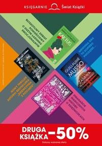 Gazetka promocyjna Księgarnie Świat Książki - Druga ksiażka -50% w Świat Książki!  - ważna do 14-09-2021