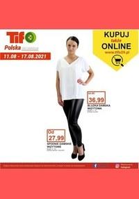 Gazetka promocyjna Tifo - Modne produkty w Tifo - ważna do 17-08-2021
