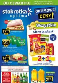 Gazetka promocyjna Stokrotka Optima - Optimowe ceny w Stokrotce!    - ważna do 18-08-2021