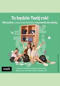 Gazetka promocyjna EMPiK - Powrót do szkoły z EMPiK!  - ważna do 31-08-2021