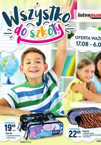 Gazetka promocyjna Intermarche Super - Wszystko do szkoły - Intermarche  - ważna do 06-09-2021