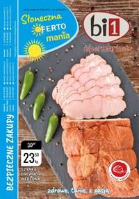 Gazetka promocyjna bi1 - Słoneczna oferta bi1 - ważna do 24-08-2021