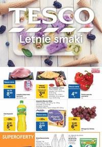 Gazetka promocyjna Tesco Centra Handlowe - Letnie marki w Tesco - ważna do 25-08-2021