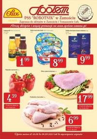Gazetka promocyjna PSS Zamość - Najlepsze zakupy w PSS Zamość - ważna do 04-09-2021