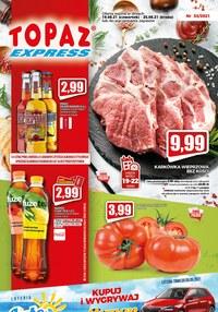Gazetka promocyjna Topaz - Hity cenowe w Topaz Express - ważna do 25-08-2021