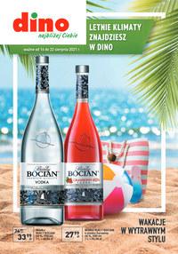 Gazetka promocyjna Dino - Świat alkoholi w Dino - ważna do 22-08-2021