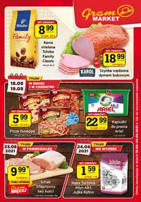 Gazetka promocyjna Gram Market - Gazetka promocyjna Gram Market!  - ważna do 24-08-2021