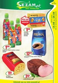 Gazetka promocyjna Sezamek - Hity produktowe w sklepach Sezamek - ważna do 28-08-2021