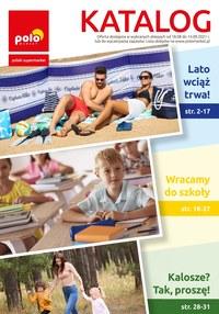 Gazetka promocyjna POLOmarket - Katalog letni POLOmarket - ważna do 14-09-2021