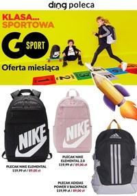 Gazetka promocyjna GO Sport - Powrót do szkoły na sportowo w GO Sport - ważna do 12-09-2021