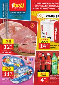 Gazetka promocyjna Twój Market - Blisko natury z Twój Market  - ważna do 24-08-2021