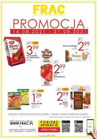Gazetka promocyjna FRAC - Oferta handlowa Frac  - ważna do 21-08-2021