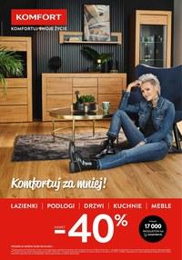 Gazetka promocyjna Komfort - Komfortuj za mniej! - ważna do 05-09-2021
