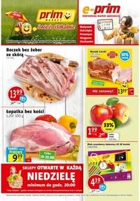 Gazetka promocyjna Prim Market - Ogródek Prim Market i świeże owoce!  - ważna do 25-08-2021