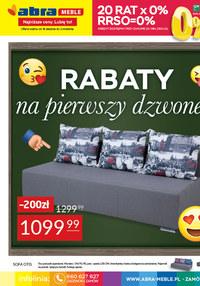 Gazetka promocyjna Abra - Abra - rabaty na pierwszy dzwonek - ważna do 02-09-2021
