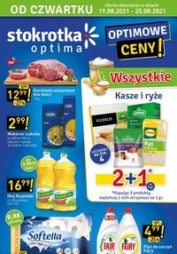 Gazetka promocyjna Stokrotka Optima - Optimowe ceny w Stokrotce!     - ważna do 25-08-2021