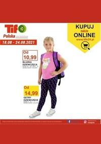Gazetka promocyjna Tifo - Hitowe ceny w Tifo - ważna do 24-08-2021