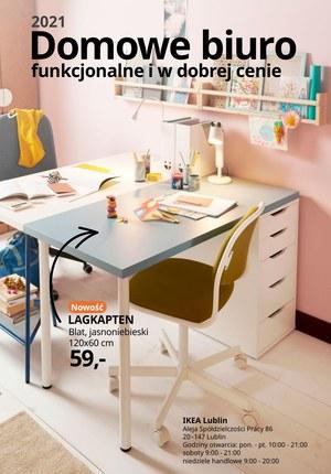 Gazetka promocyjna IKEA - IKEA Lublin - urządź domowe biuro!