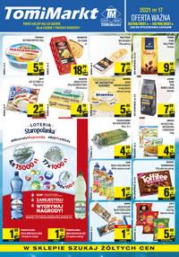 Gazetka promocyjna TomiMarkt - Twój sklep na co dzień w TomiMarkt  - ważna do 02-09-2021