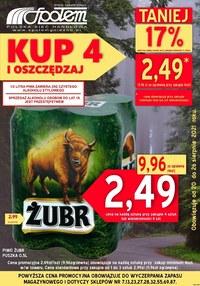 Gazetka promocyjna PSS Społem Gniezno - Plakat promocyjny PSS Społem Gniezno - ważna do 26-08-2021